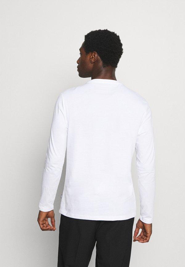 Pier One Bluzka z długim rękawem - white/biały Odzież Męska GFER