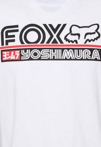 Fox Racing - YOSHIMURA TEE - Long sleeved top - white - 2