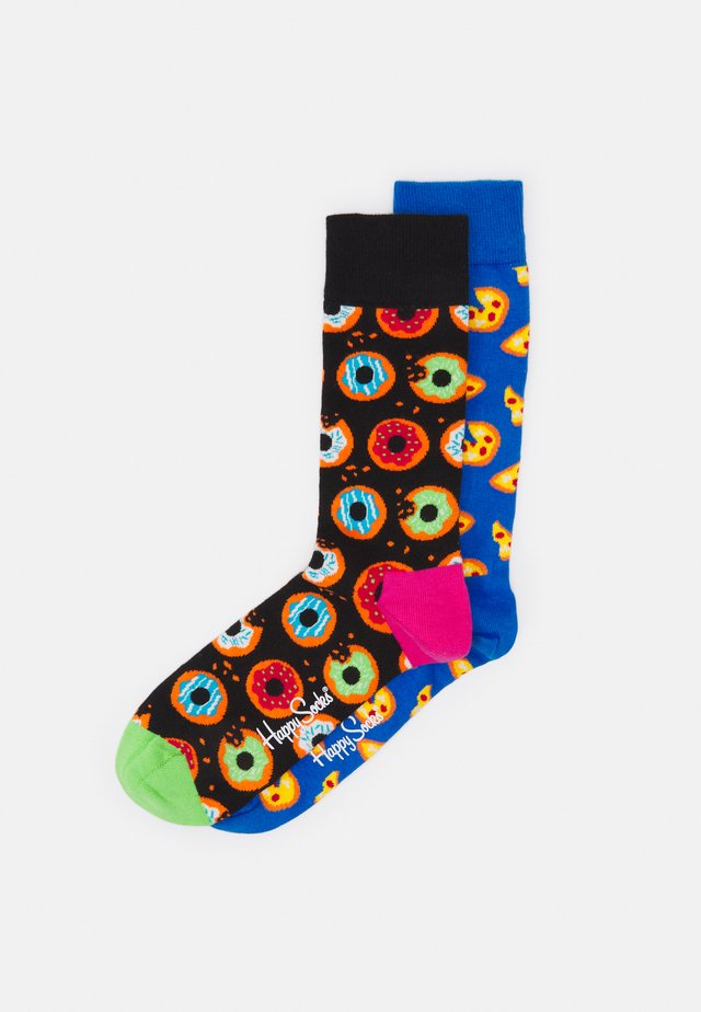 DONUT SOCK PIZZA SOCK 2 PACK - Sokken - multi-coloured