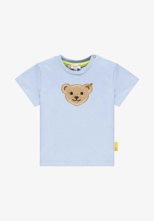 MIT STEIFF APPLIKATION - T-shirt print - kentucky blue