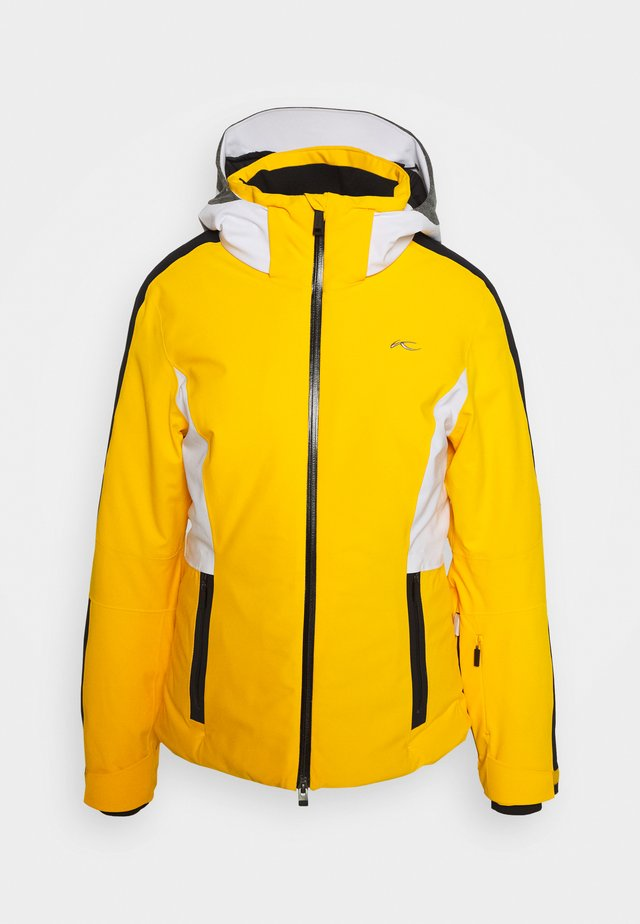 WOMEN FORMULA - Lyžařská bunda - go hon yellow