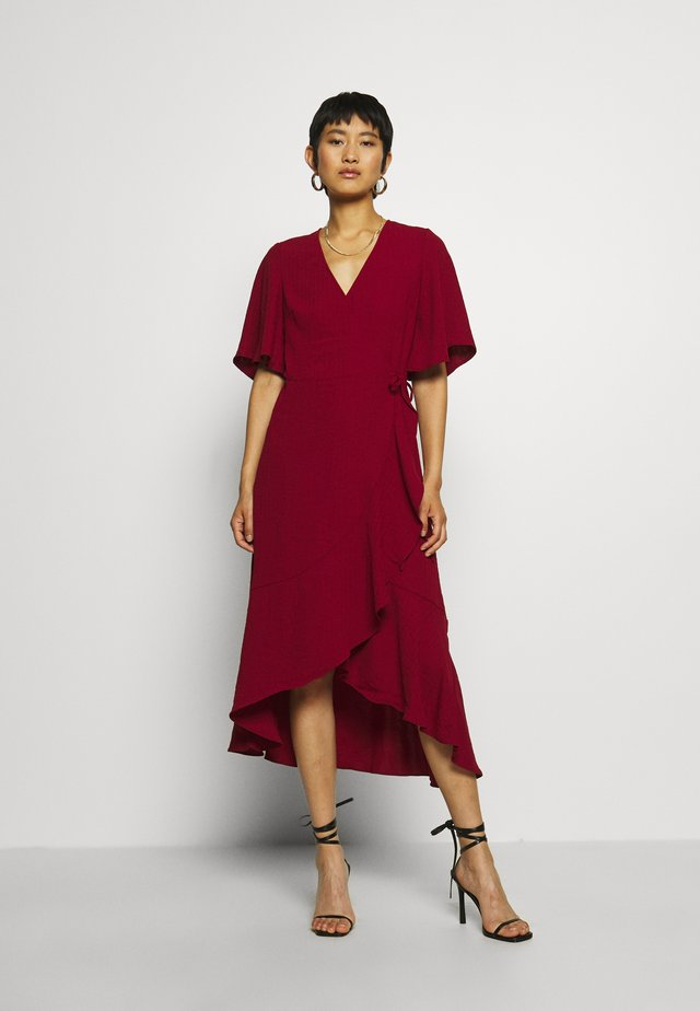 DRESS JULY - Korte jurk - rhubarb