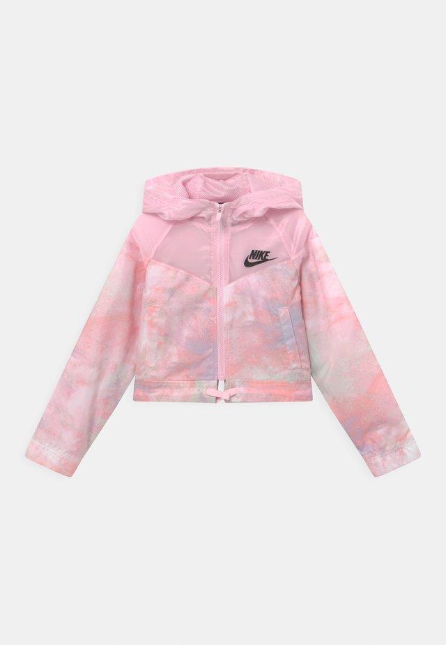 Übergangsjacke - pink foam/white