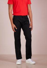 BOSS - MAINE - Straight leg jeans - black - 0