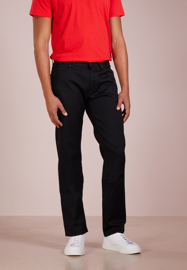 MAINE - Straight leg jeans - black