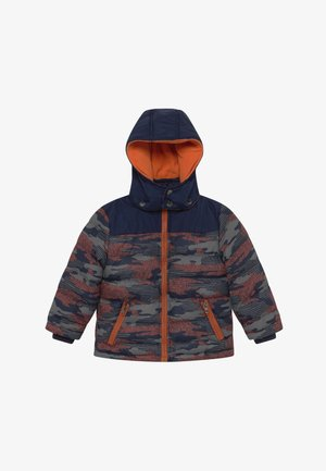 KIDS CAMOUFLAGE - Winter jacket - blau