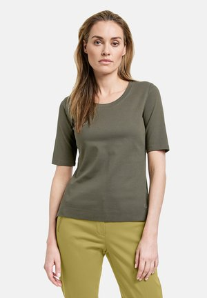 1/2 ARM - Basic T-shirt - olive