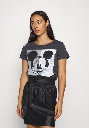 MINNIE FACE  - T-shirts print - dark grey