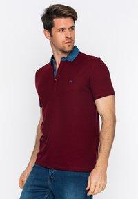 Basics and More - Polo shirt - bordeaux - 2