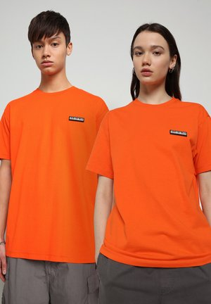 T-shirt basic - orangeade