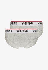 Moschino Underwear - 2 PACK - Underbukse - grey - 3