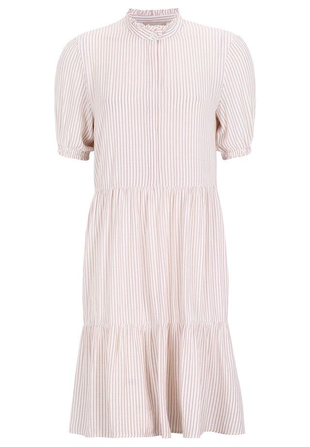 ALLYSIA SS - Robe chemise - mauve chalk