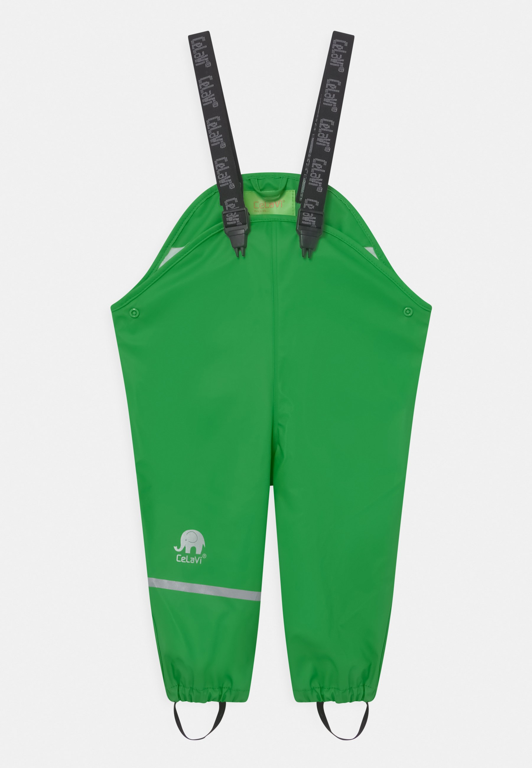 Kids RAINWEAR PANTS SOLID UNISEX - Rain trousers - green