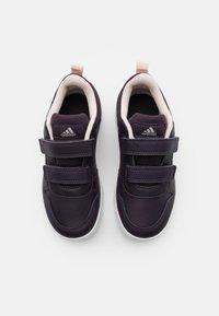 adidas Performance - TENSAUR UNISEX - Chaussures d'entraînement et de fitness - noble purple/copprt metallic/pink tint - 3