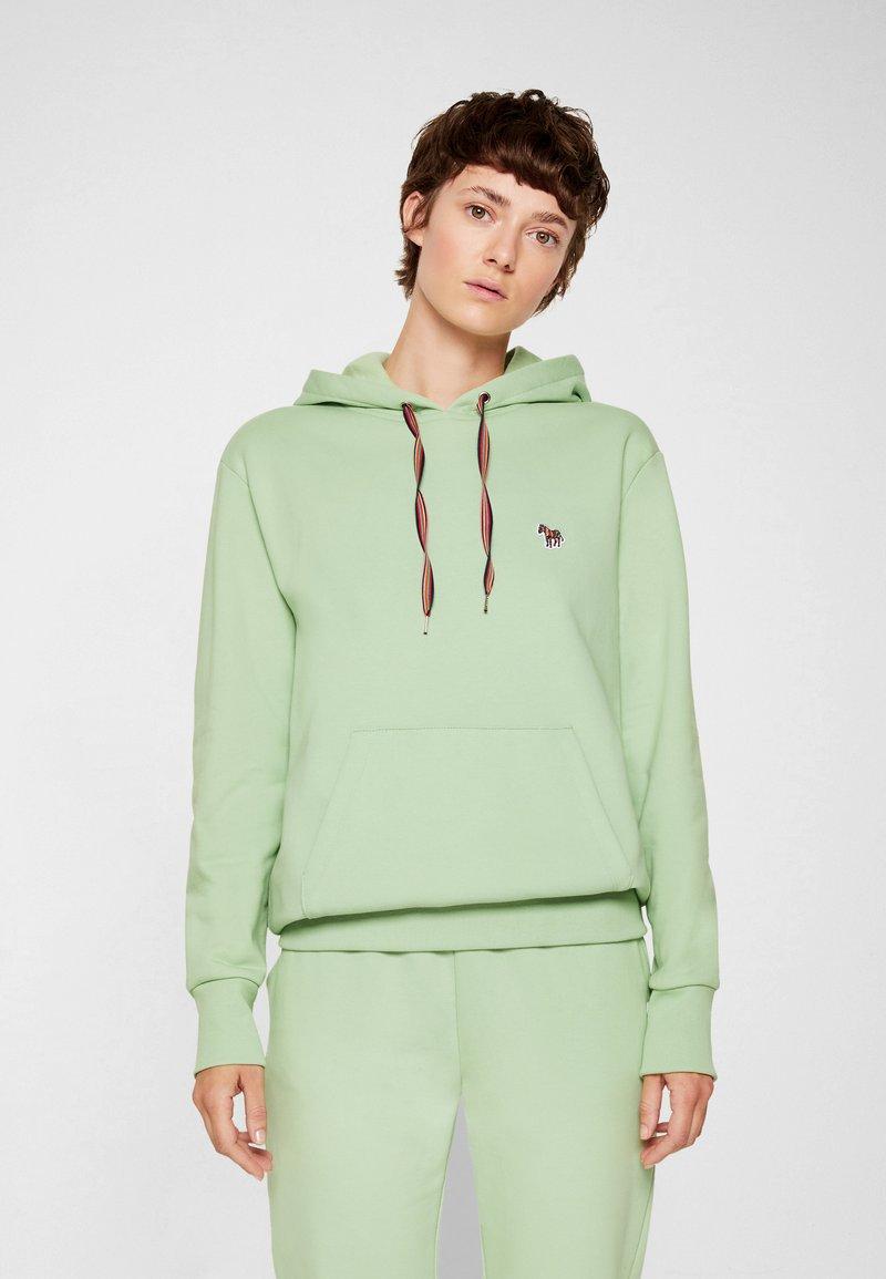 PS Paul Smith - ZEBRA HOODIE - Sweatshirt - mint