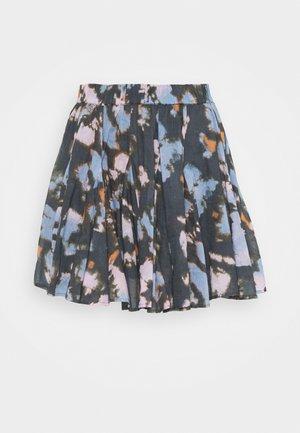 SWAY MY WAY PULL ON SKIRT - Mini skirt - dark combo