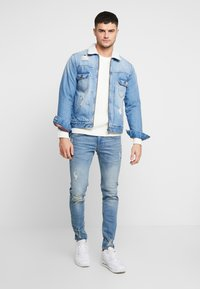 Redefined Rebel - STOCKHOLM DESTROY - Jeans slim fit - arctic blue - 1