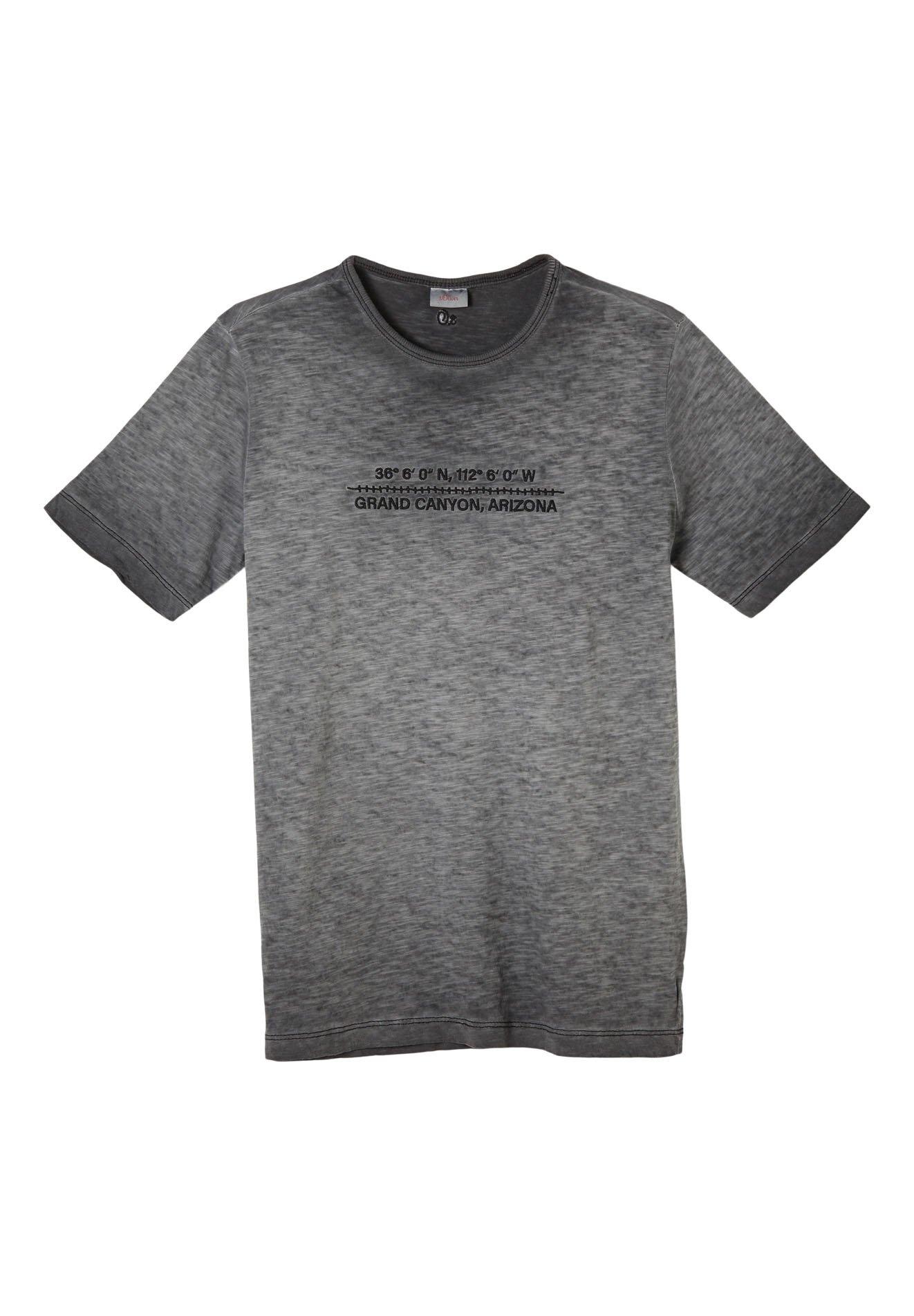 Kinder MIT FLAMMGARN-STRUKTUR - T-Shirt print