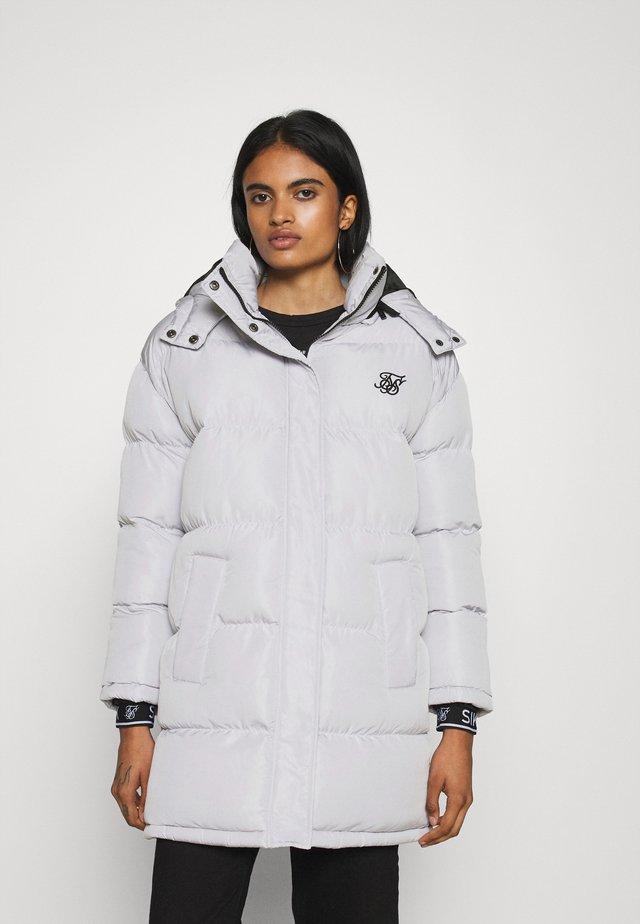 LONGLINE PADDED JACKET - Winter jacket - light grey