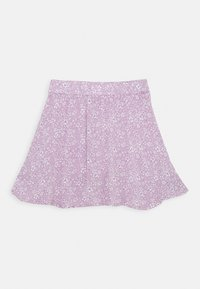 Abercrombie & Fitch - CHASE WRAP FRONT SKIRT - A-line skirt - lavender - 1