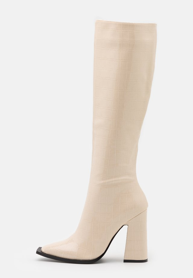 SPHERE - High heeled boots - offwhite