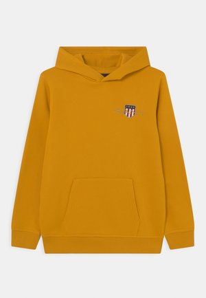 ARCHIVE SHIELD HOODIE UNISEX - Mikina - ivy gold
