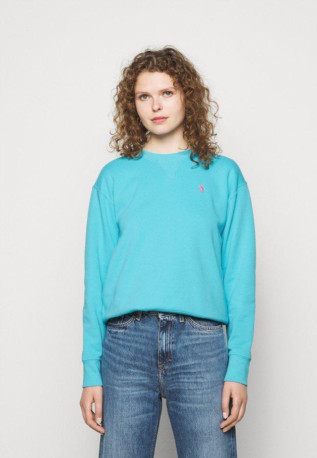 Sweatshirt - perfect turquoise
