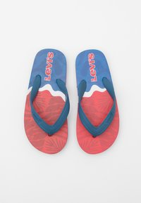 Levi's® - SOUTH BEACH UNISEX - Boty do bazénu - navy/red - 3