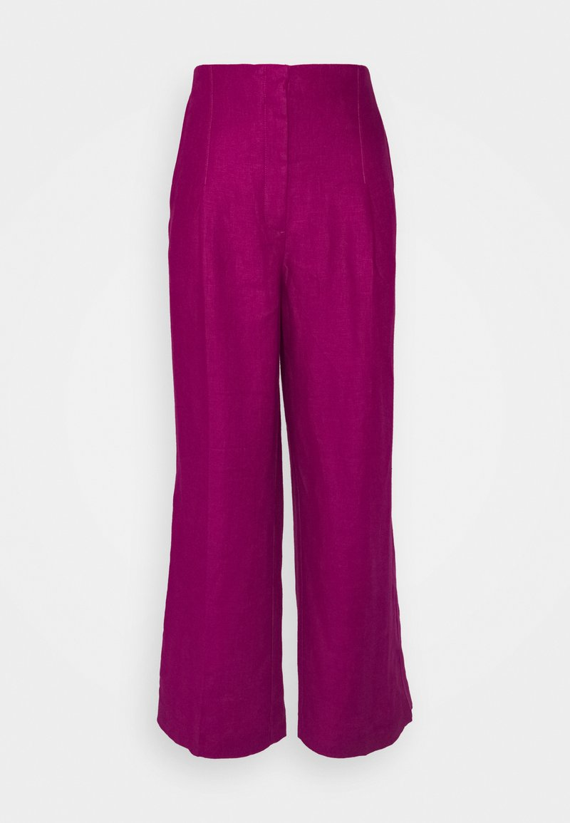 Marks & Spencer London - WIDELEG TROUSERS - Trousers - pink