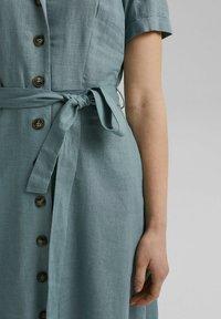 Esprit - Shirt dress - turquoise - 5