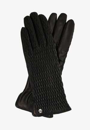 CHIC RUFFLE - Gloves - black