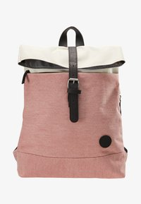 Enter - Rucksack - melange red/natural - 4