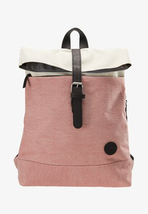 Tagesrucksack - melange red/natural