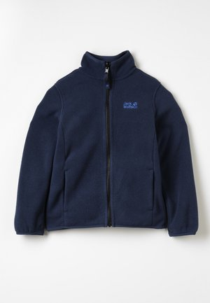 BAKSMALLA JACKET KIDS - Fleecejas - midnight blue