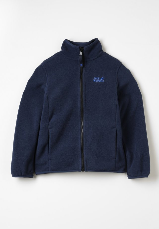 BAKSMALLA JACKET KIDS - Fleece jacket - midnight blue