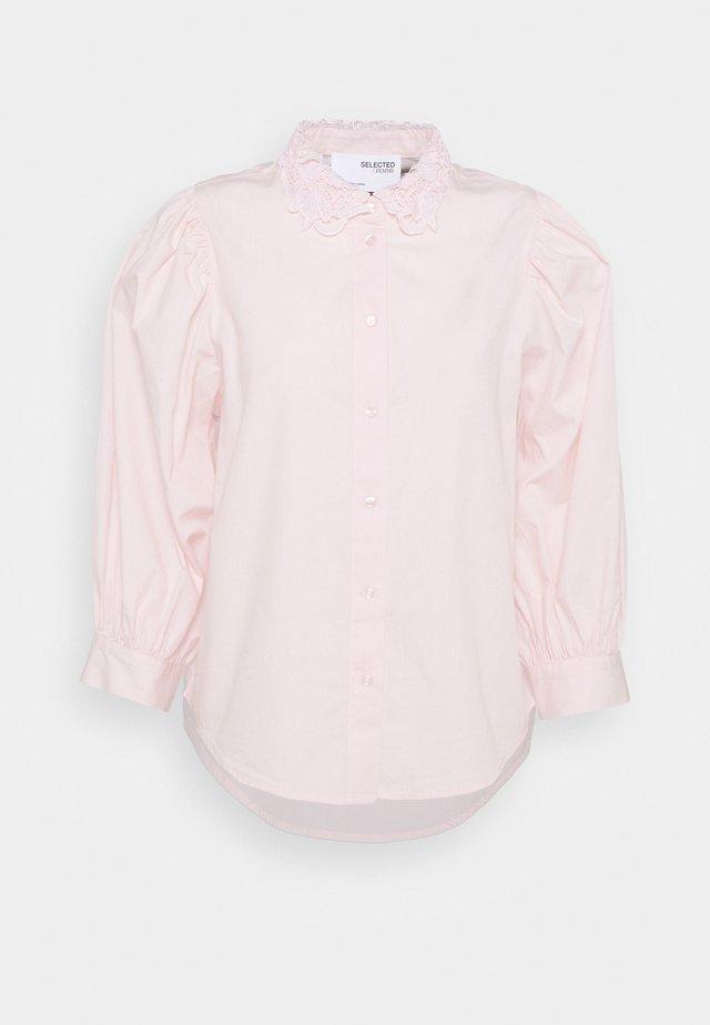 SLFROMANCE PUFF SLEEVE - Hemdbluse - primrose pink