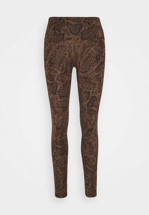 LEGGINGS - Leggings - brown
