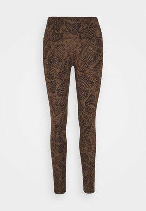 LEGGINGS - Legging - brown