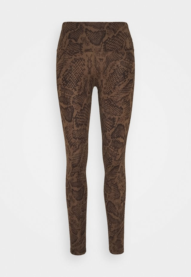 LEGGINGS - Trikoot - brown