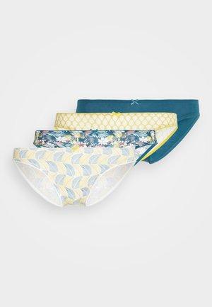 INES 4 PACK - Kalhotky - vert canard