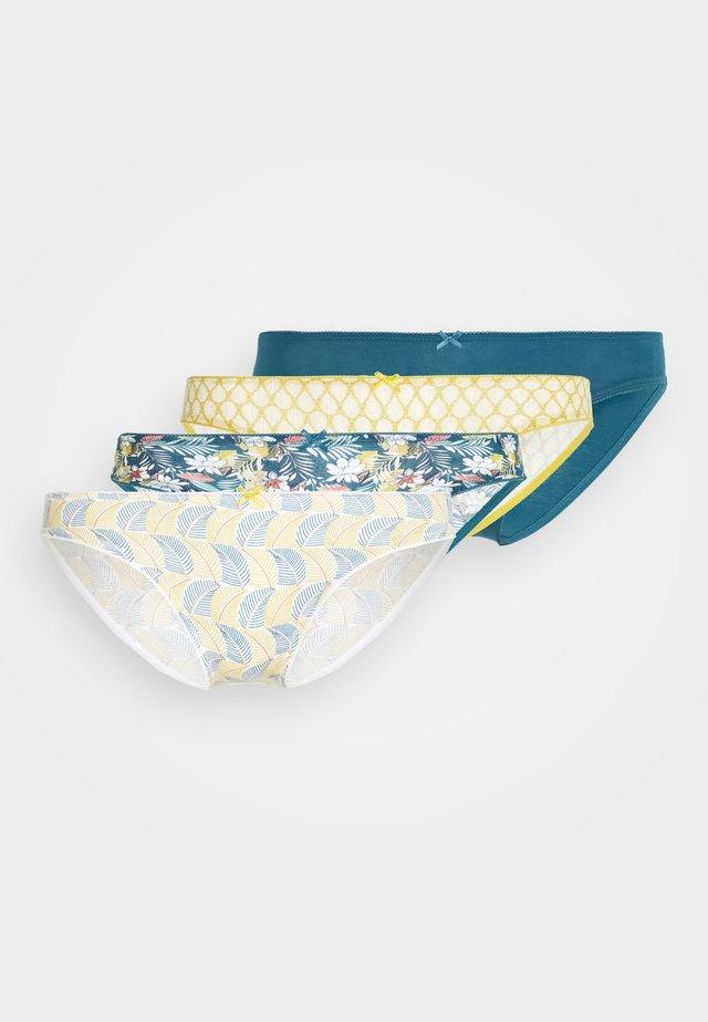INES 4 PACK - Figi - vert canard