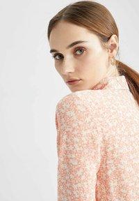DeFacto - Button-down blouse - pink - 4