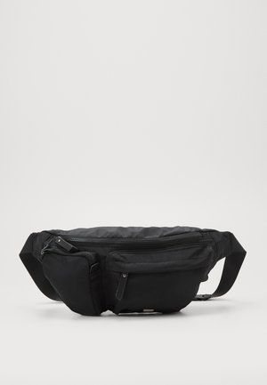 SPORTS LUXE BUM BAG - Bum bag - black
