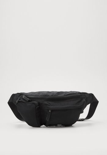 SPORTS LUXE BUM BAG - Bum bag - black