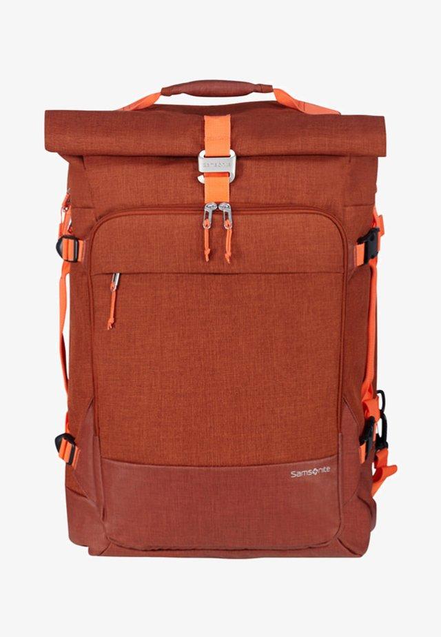 ZIPROLL - Rucksack - burnt orange