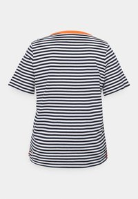 MY TRUE ME TOM TAILOR - Print T-shirt - navy/white - 1