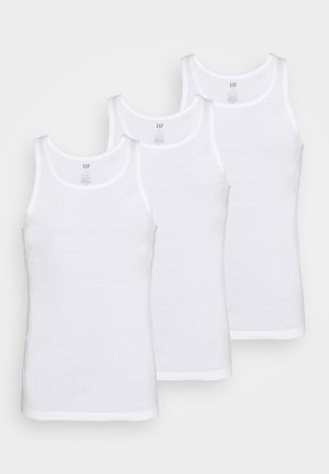 TANK 3 PACK - Top - white