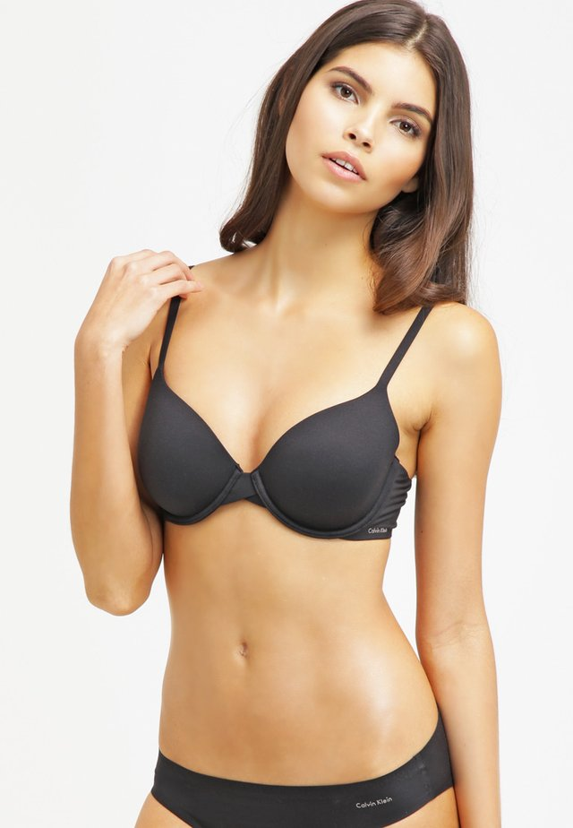 PERFECTLY FIT - T-shirt bra - black