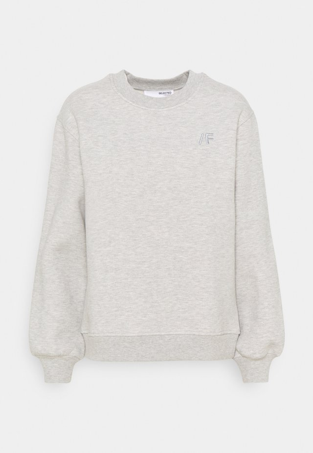 SLFALANA - Sweater - medium grey melange