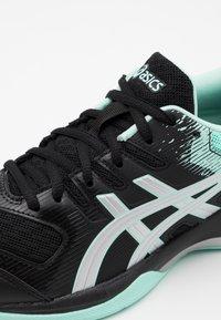 ASICS - GEL ROCKET 9 - Volleyball shoes - black/fresh ice - 5
